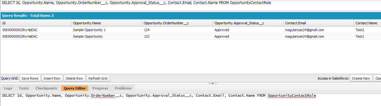 Infallible Techie: How to fetch Contact details from