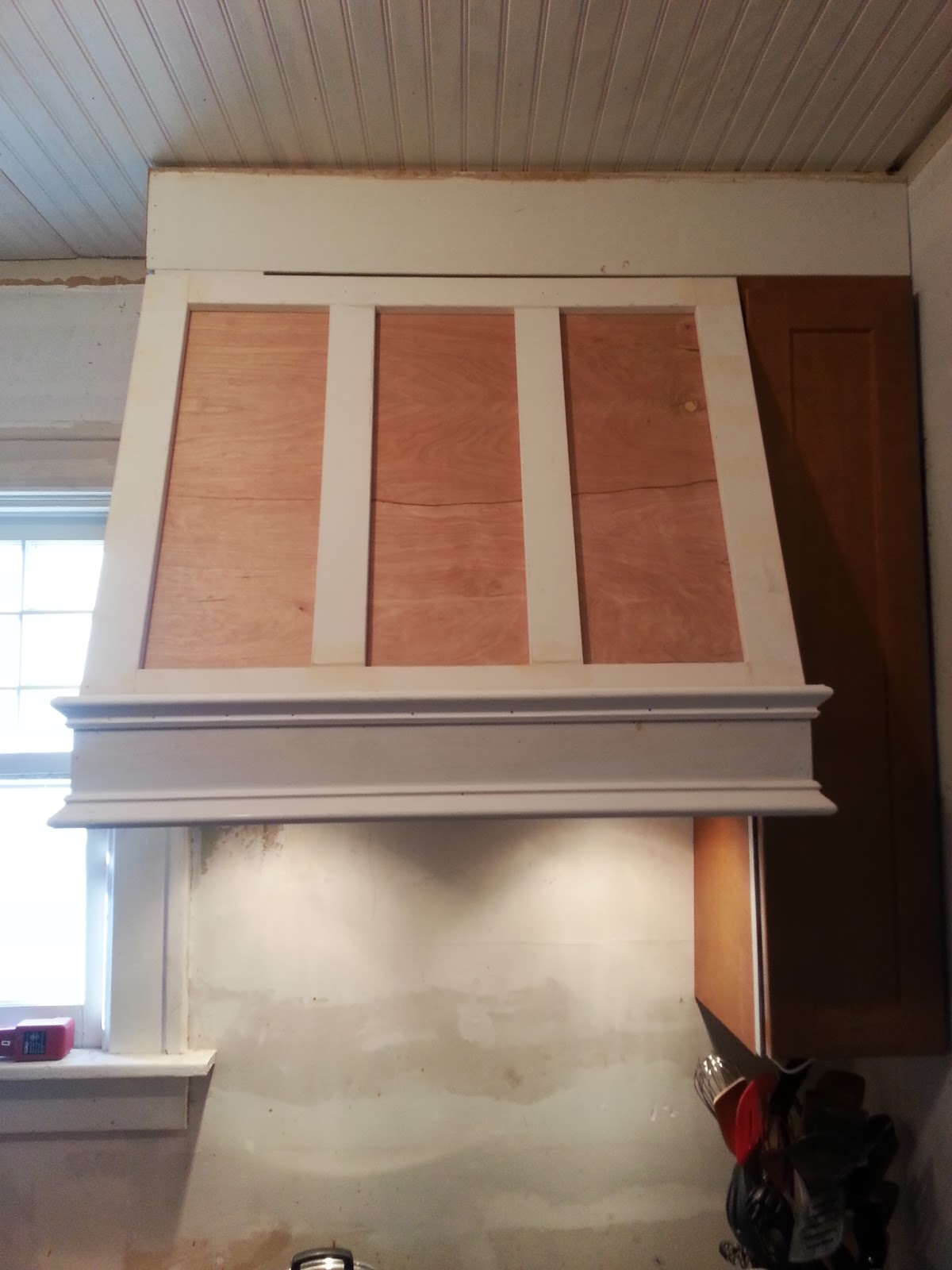 Wood Chimney Hoods ~ Confessions of a diy aholic how to build shaker style