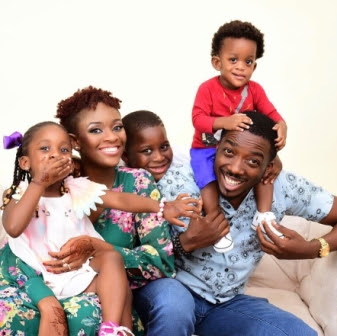 comedian bovi and his family