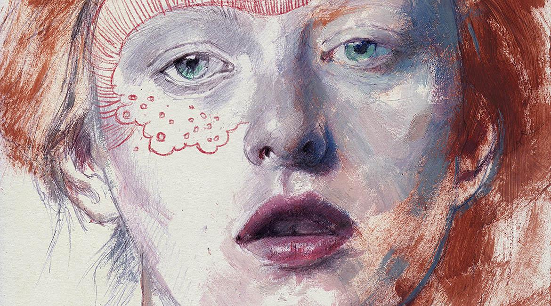 Portrait 295 Red Princess