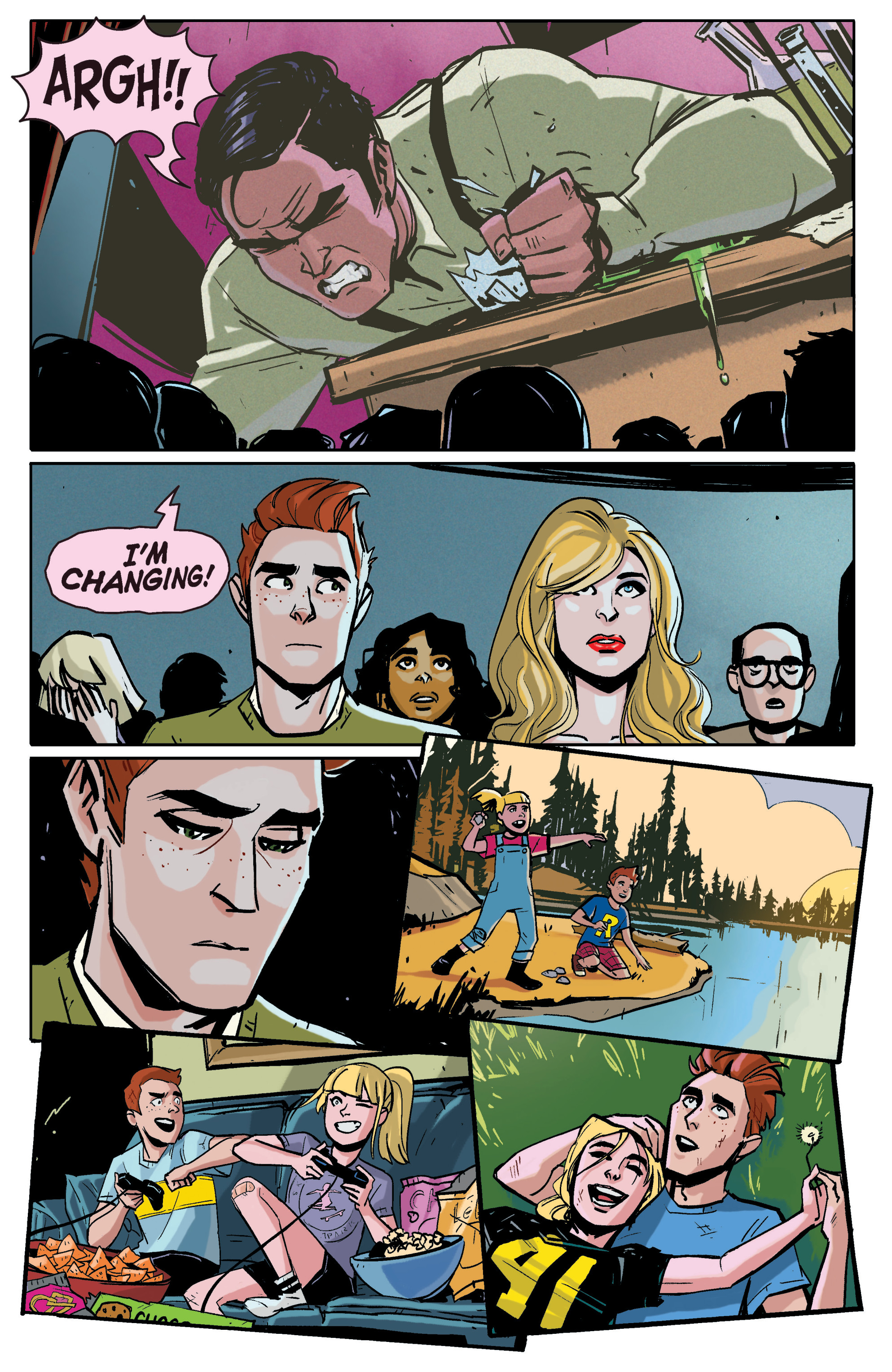 Read online Archie (2015) comic -  Issue #4 - 17