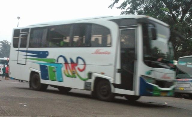 rute dan tarif bus marita cianjur, kampung rambutan, pasar rebo, merak, serang