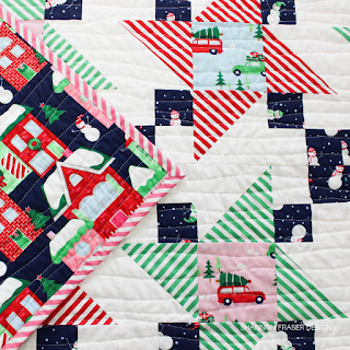 Home for the Holidays Irish Vortex Quilt | Shannon Fraser Designs