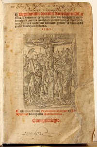 Sixteenth Century Breviary of the Use of Orleans