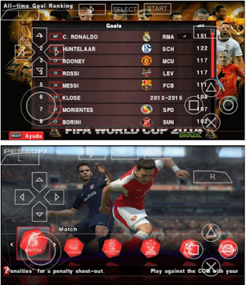 Download PES 2017 Patch ARMY PPSSPP PSP ISO Save Data Indonesia Super League Terbaru
