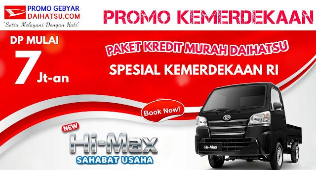 Promo Daihatsu HI-MAX - Spesial Promo Kemerdekaan Agustus 2017