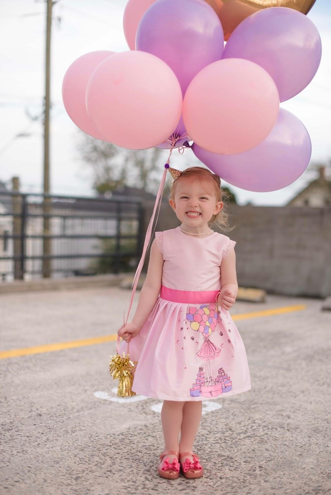 Madeline turns 3 - Something Delightful Blog