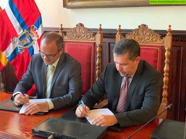 PP y CC firman un pacto de gobierno para Santa Cruz de La Palma