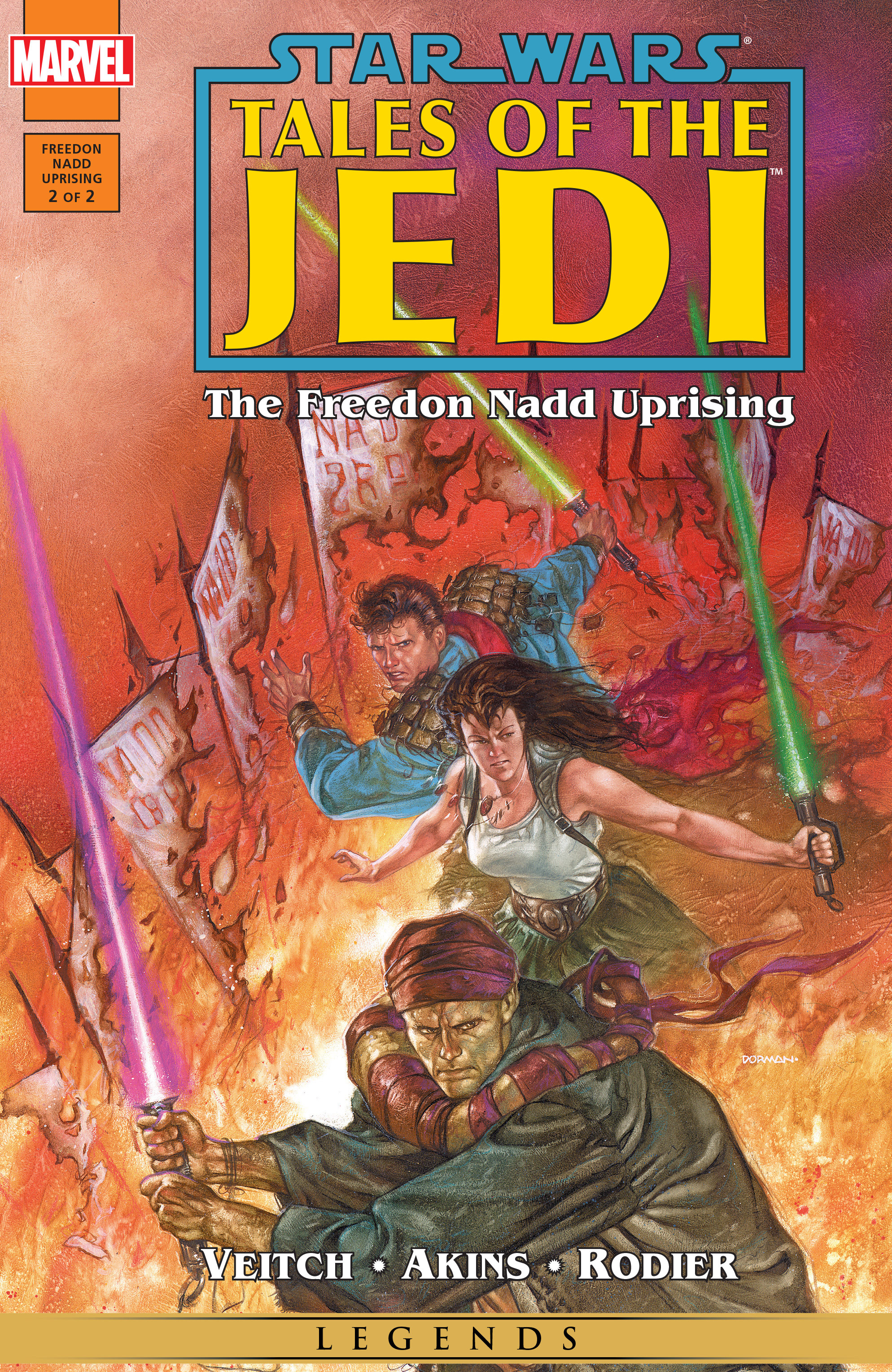 Star Wars: Tales of the Jedi - The Freedon Nadd Uprising 2 Page 1