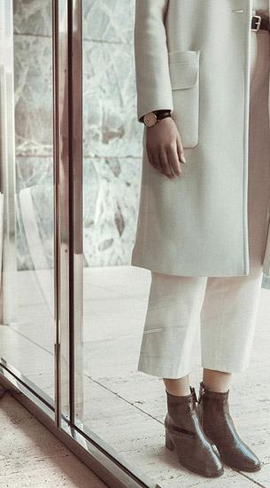 botines reloj mujer Massimo Dutti otoño invierno