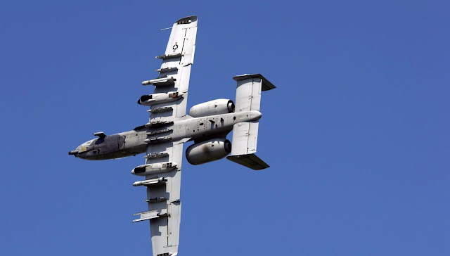 Fairchild A-10 Thunderbolt II of United States Air Force
