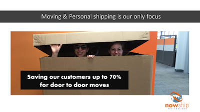 Long distance or international small move options save our customers up to 70%