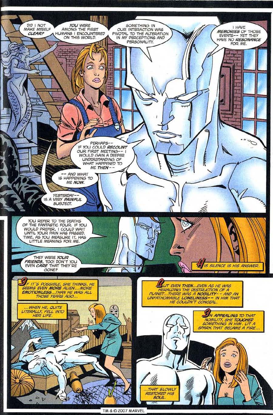 Read online Silver Surfer (1987) comic -  Issue #123 - 25