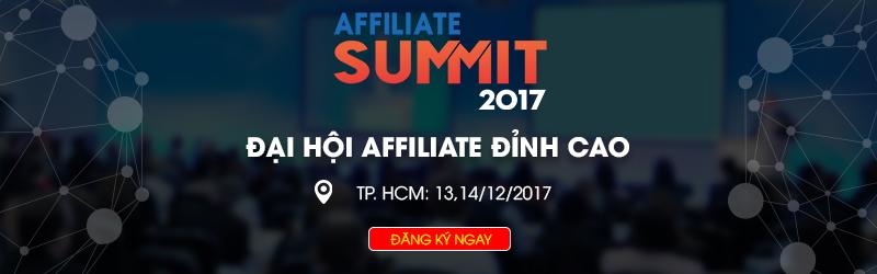 Affiliate Summit 2017 - Đại hội về tiếp thị liên kết