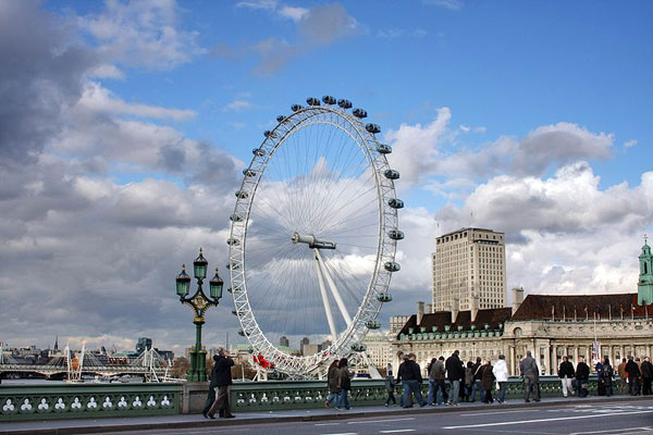 The Largest Ferris Whell In the World: London eyes