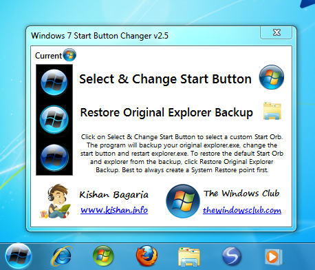 DOWNLOAD TO PC WIN FREE OFFICIAL 7STARTBUTTONCHANGER (6 1