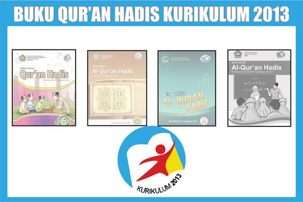 Buku Paket Alquran Hadis MI MTs MA Kurikulum 2013
