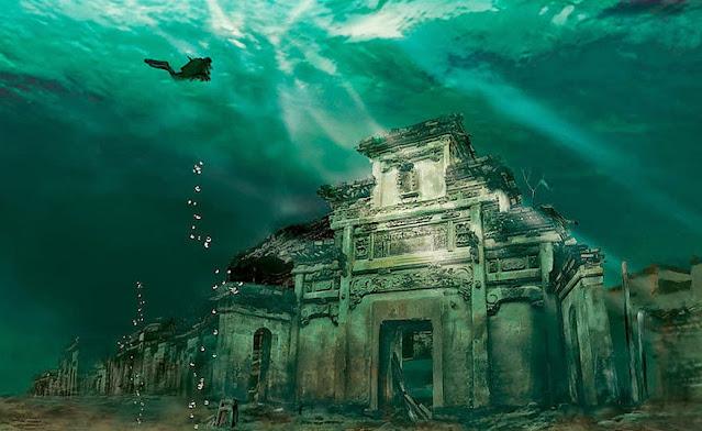 Podvodni grad u Kini