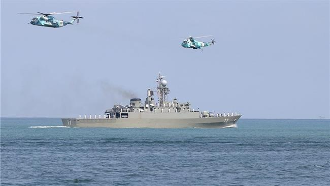 Iranian Navy launched military drills in Caspian Sea