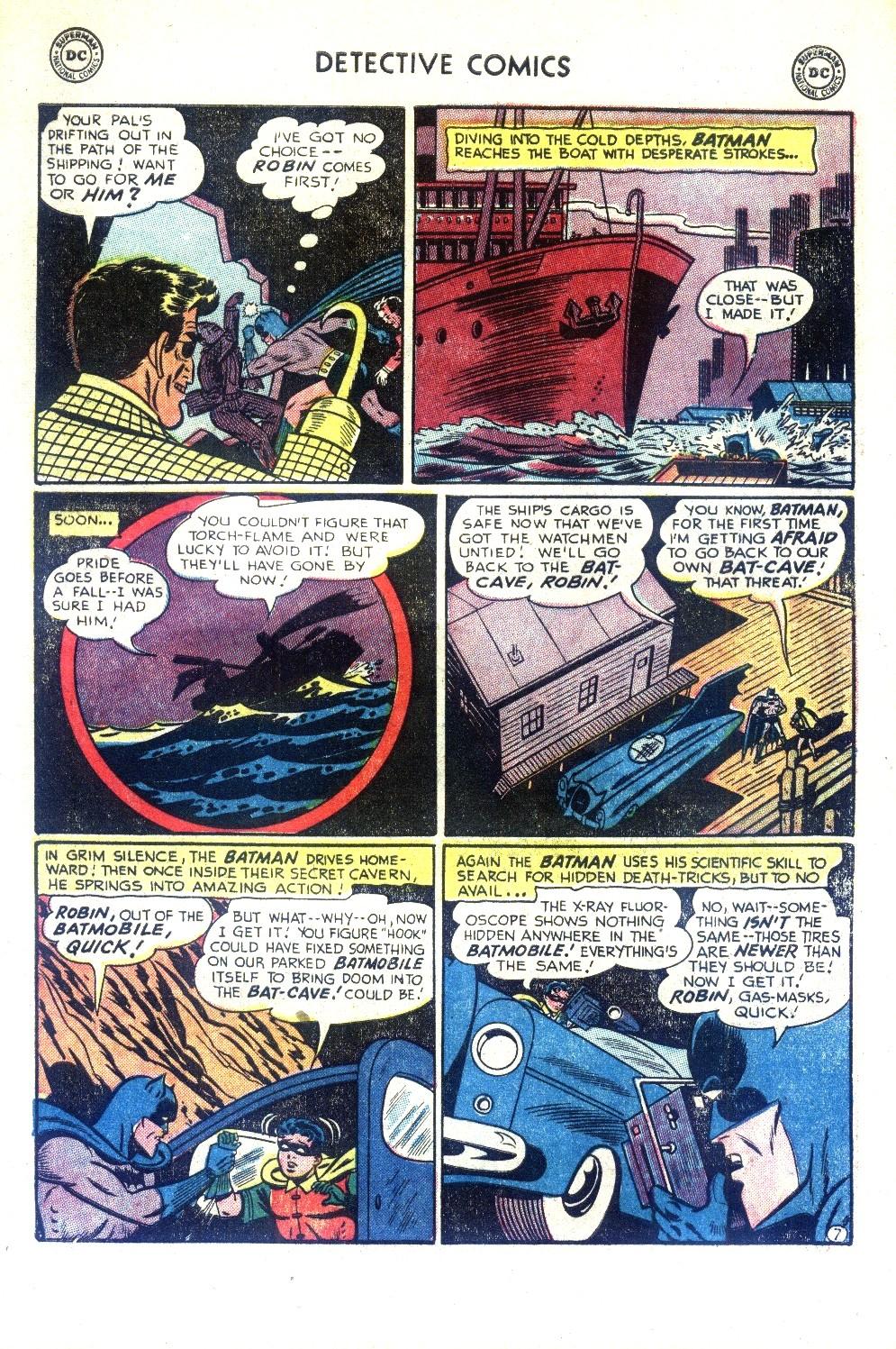 Read online Detective Comics (1937) comic -  Issue #188 - 9