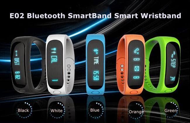 Smart watches blog: How To Set E02 Sports Bracelet