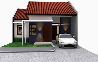 Gambar Desain Rumah Type 45