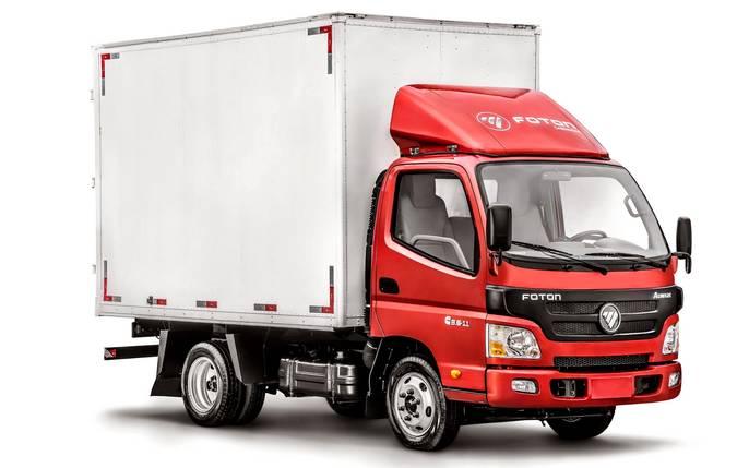 Foton Caminhões entrega nove veículos para RG LOG