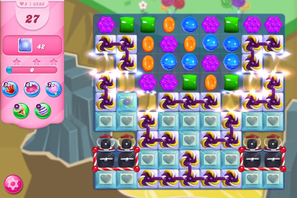 Candy Crush Saga level 6238