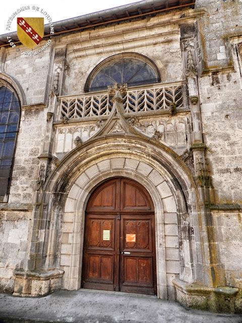 SAMPIGNY (55) - Eglise Saint-Pierre et Sainte-Lucie