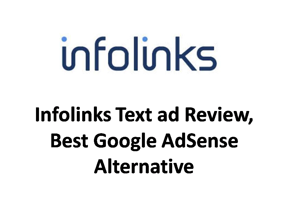 infolinks review, best alternative of google adsense