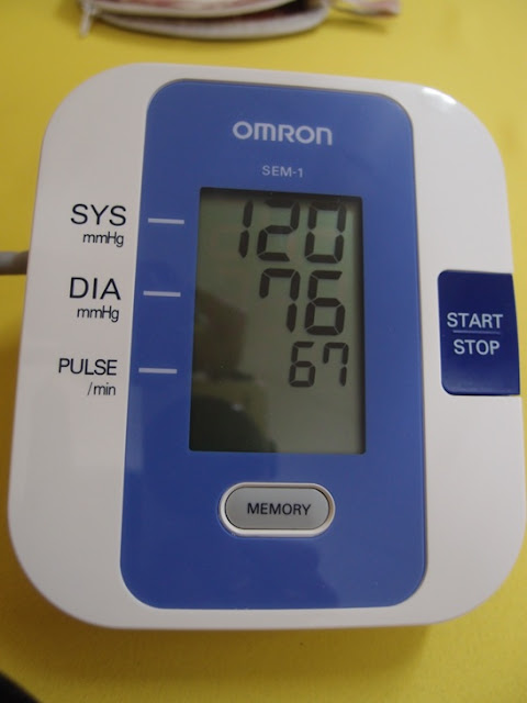 Xing Fu: BLOOD PRESSURE BACK TO NORMAL