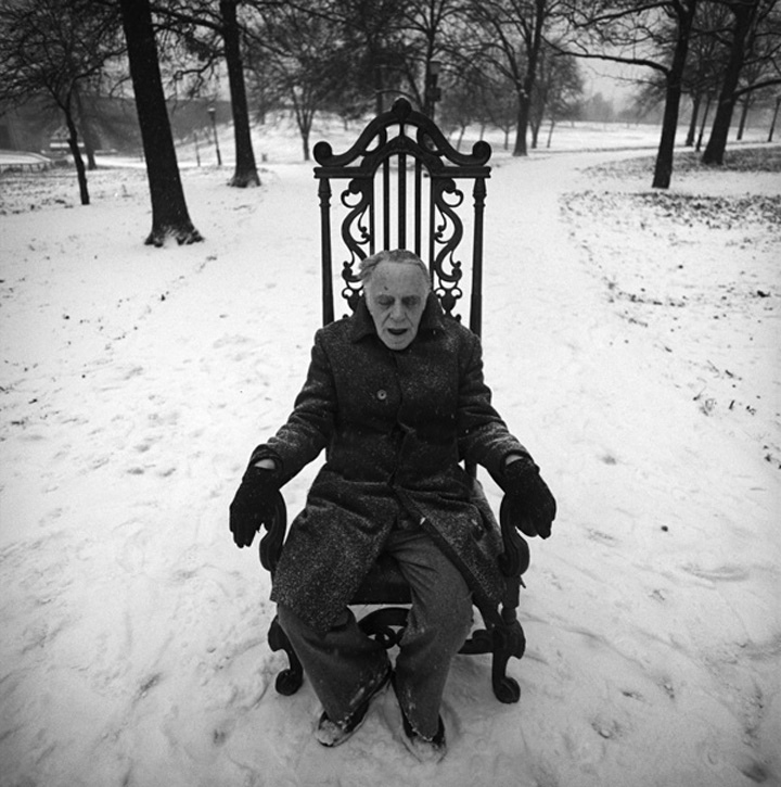 Arthur Tress, Last Portrait of My Father, New York City, NY, 1978/2006c Silver print, unmounted, 15-1/4 x 15 in. (387 x 381 mm)
