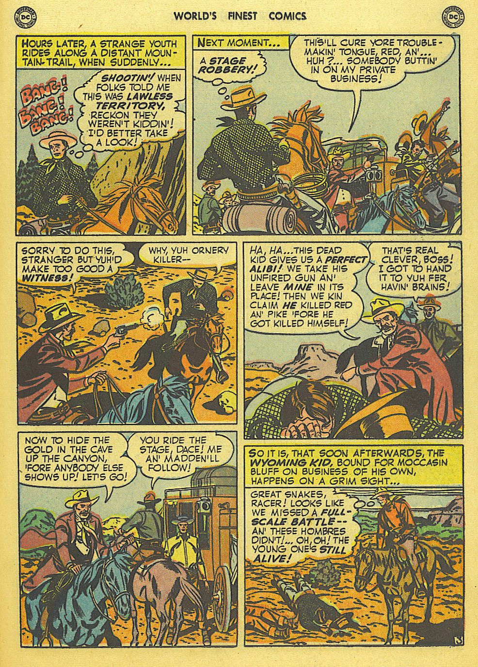Read online World's Finest Comics comic -  Issue #49 - 42