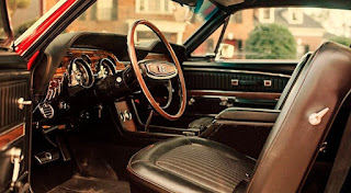 1968 Ford Mustang Shelby GT-500 Fastback Steering Wheel & Interior