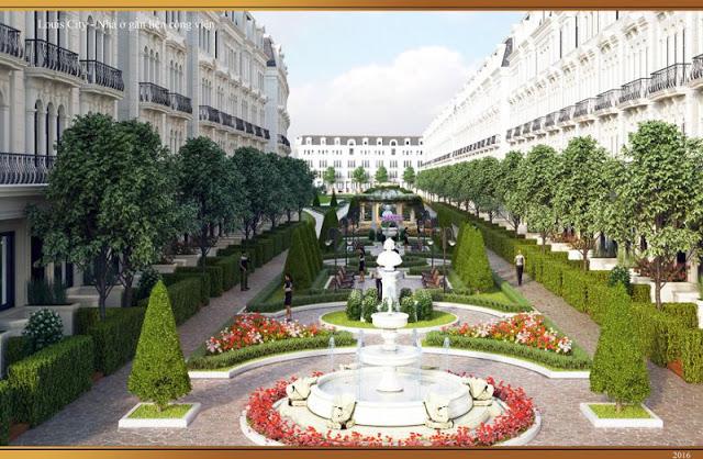Cảnh quan mang đậm phong cách châu Âu cổ điển tại Louis City