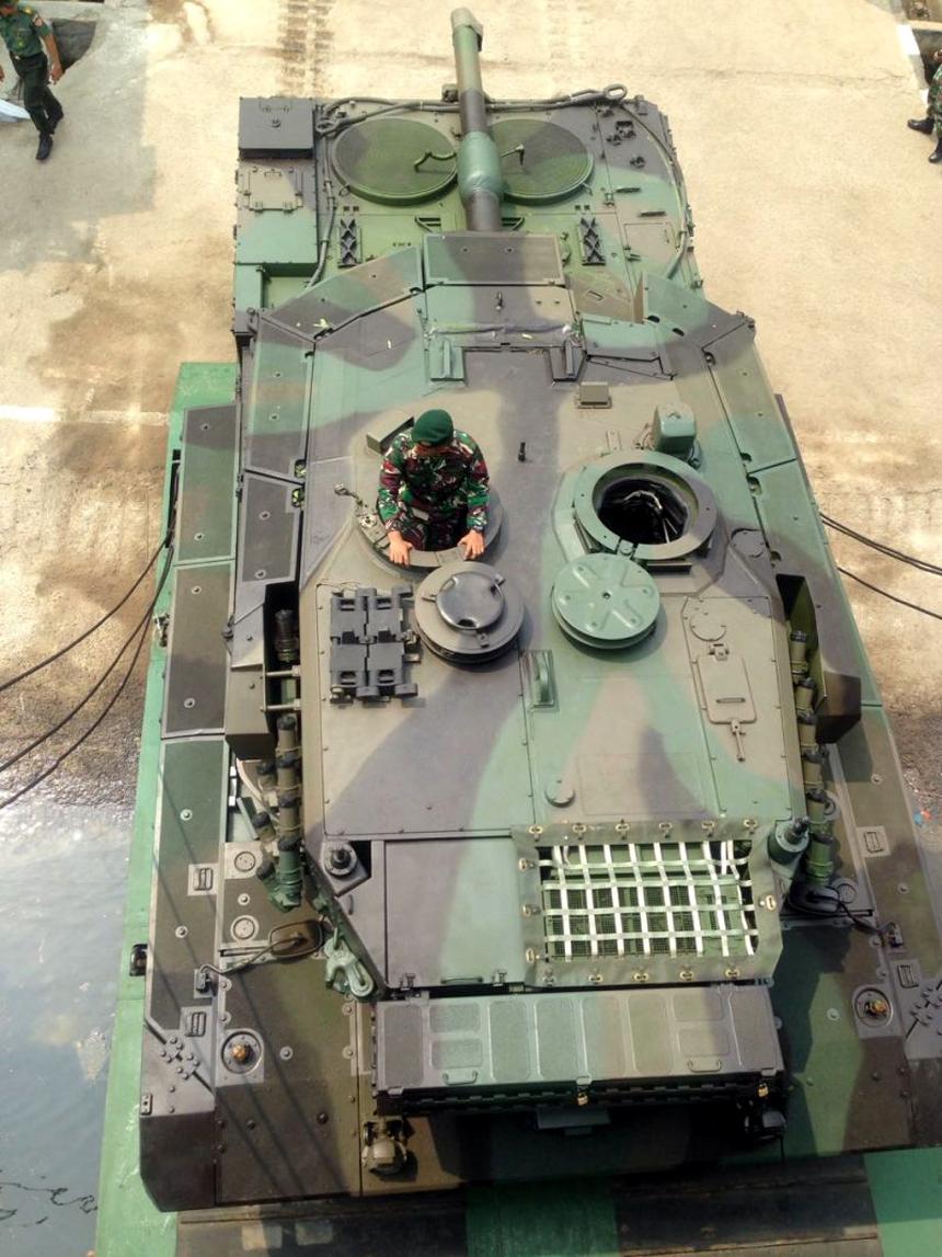Tank Leopard 2A4 TNI