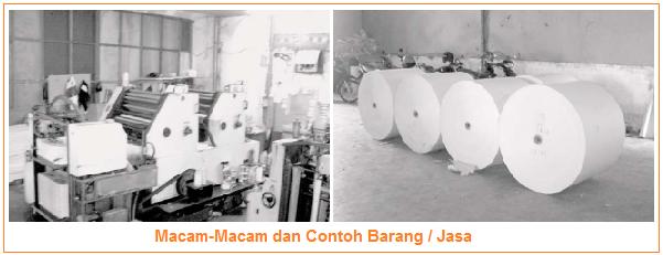 Macam-Macam dan Contoh Barang / Jasa