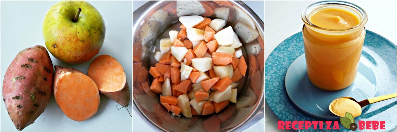 Batat slatki krompir za bebe