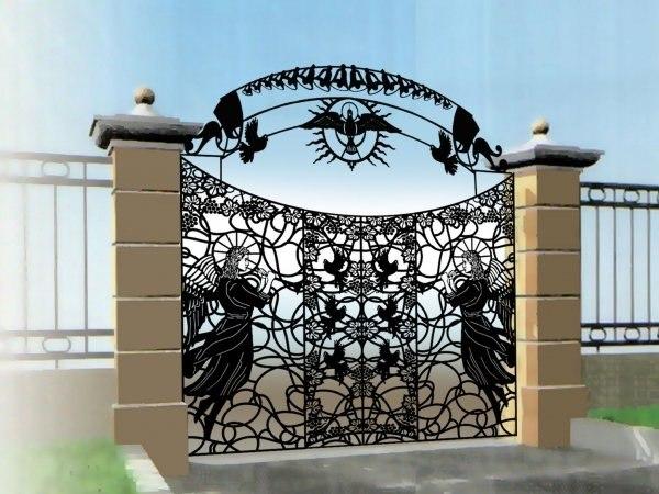Metal Gate Design Ideas - Decor Units