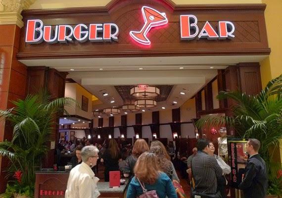 Lanchonete Burger Bar em Las Vegas
