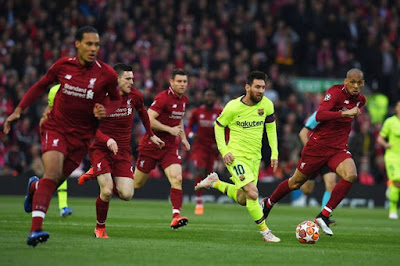 Liverpool FC - FC Barcelona semi Champions League 2019