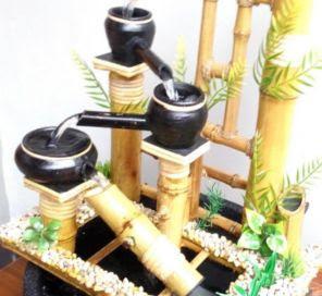 taman air mancur rumah minimalis type 36