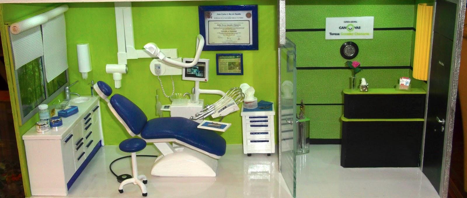 Decorar con miniaturas cl nica dental el resultado final - Decoracion clinica dental ...