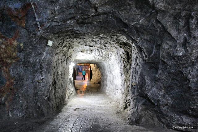 Salina Praid - galerie între minele de sare - blog Foto-Ideea
