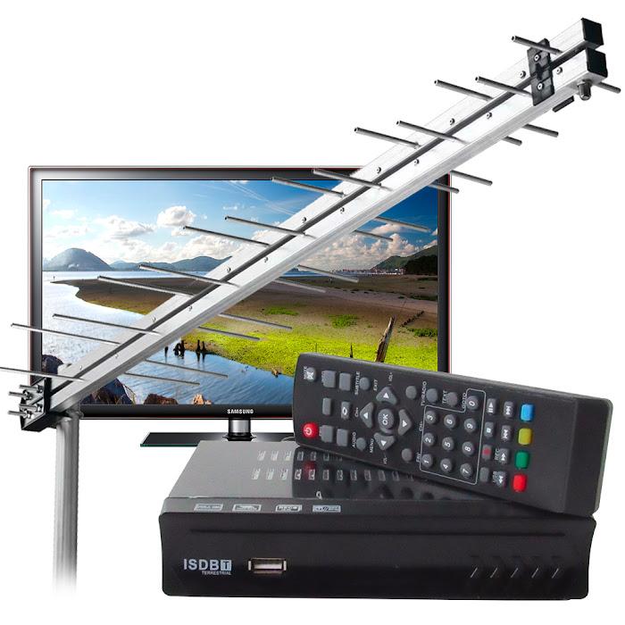 Conversor Digital + Antena Digital – Leia Antes de Comprar!