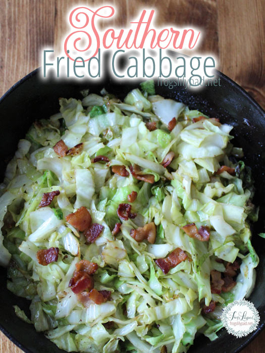 Southern Fried Cabbage Recipe #food #recipe #vegetables