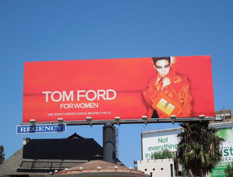 Tom Ford Woman FW 2012 billboard