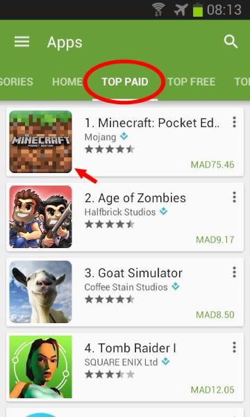 comment télécharger minecraft gratuitement sur android