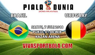 Prediksi Bola Brasil vs Belgia 7 Juli 2018