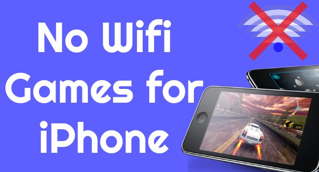 no wifi games for iphone